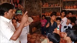 मिट्टी के बर्तनों का महत्व बच्चों के संग | Importance of earthenwares with childrens