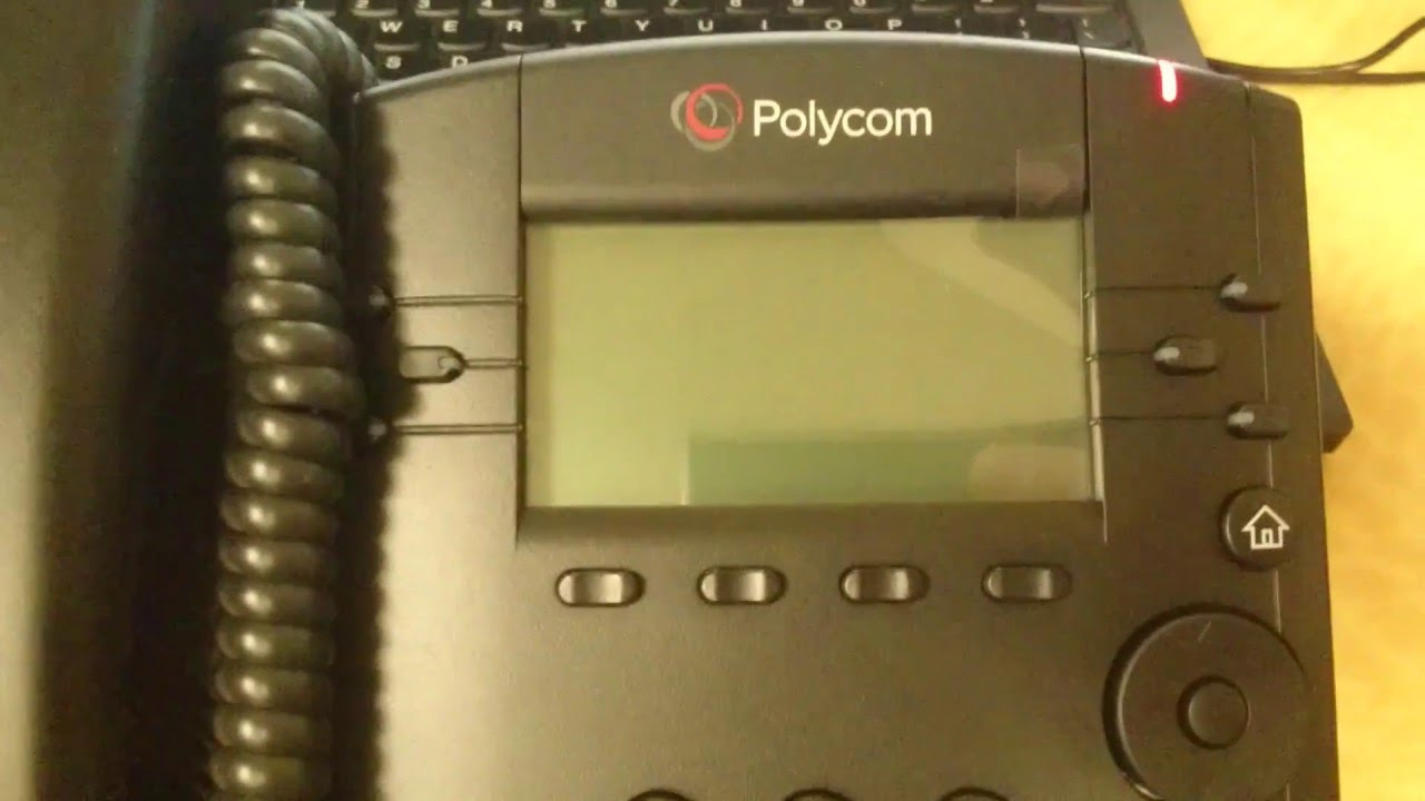 How-to configure Polycom phone for Ringcentral - VOIP VVX 310 IP 335 IP 6000