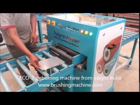 Eco 2 Prm Model Deburring Machine For Aluminium Amp Ss Ms