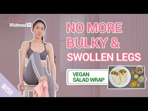 10 Minute Routine to Slim Down Bulky & Swollen Ankles & Legs | Relieve Foot Stress Fracture at Home