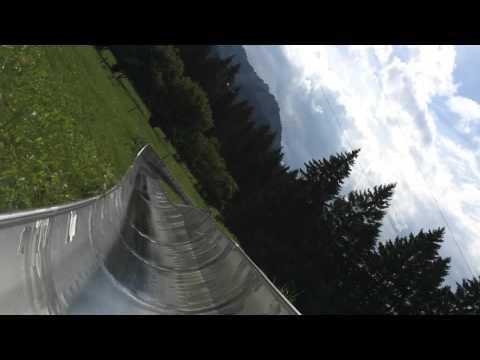 Luge Run near Fussen