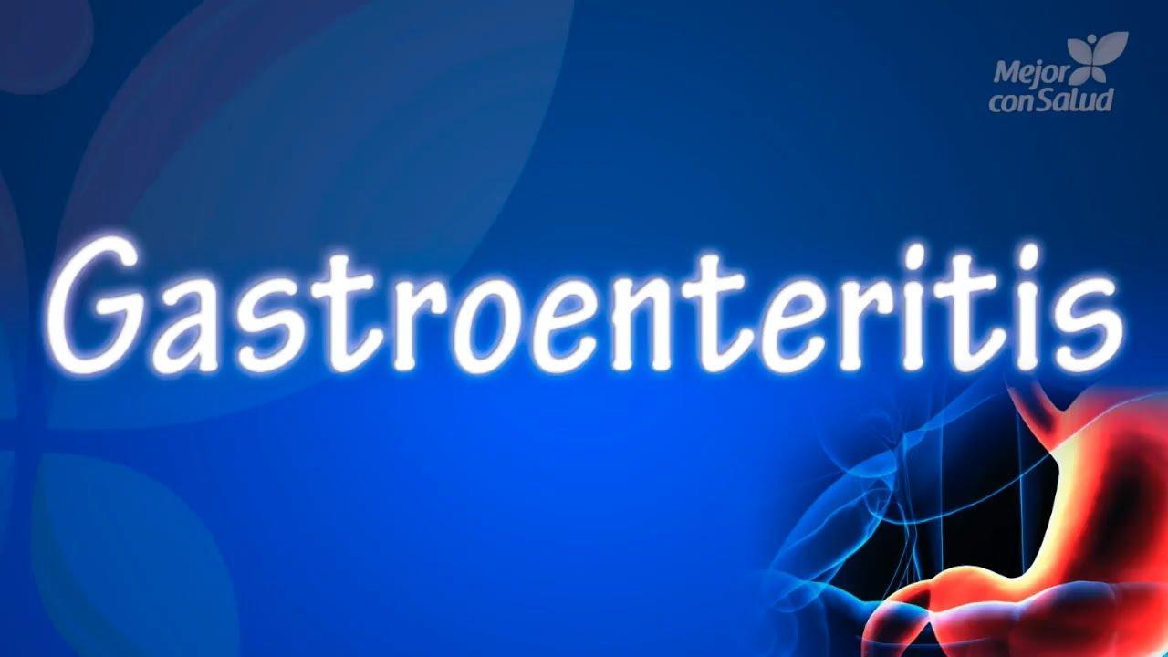 gastroenteritis infecciosa en adultos sintomas