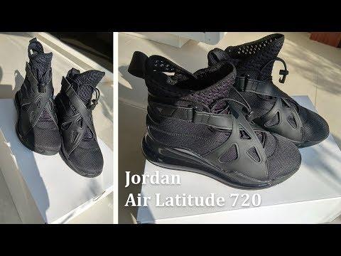 jordan air latitude 720 triple black