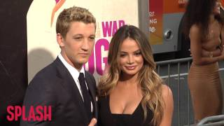 Miles Teller Expected to Announce Engagement to Keleigh Sperry   Splash News TV
