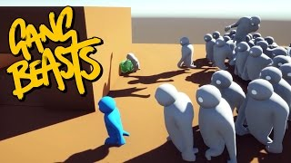 Gang Beasts - WE ARE SOO DEAD!!! [Roof Waves]