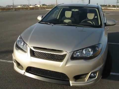 Custom Elantra Avante Hd With M Amp S Front Bumper And