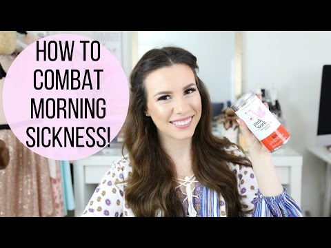 How To Combat Morning Sickness! | hayleypaige
