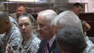 Ross Perot visits The Command and General Staff College