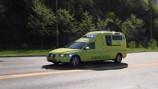 Ambulanse 278 + Ambulanse 286 + Ambulanse 249 Oslo - Akershus