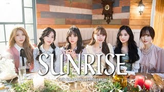 Lagu berjudul sunrise merupakan dari gfriend yang dinyanyikan kembali dalam bahasa jepang setelah sebelumnya sudah versi korea....