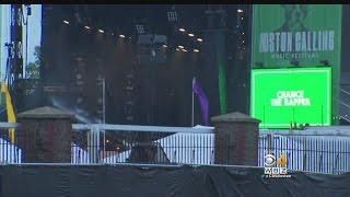 Security Is Tight, But The Show Goes On At Boston Calling