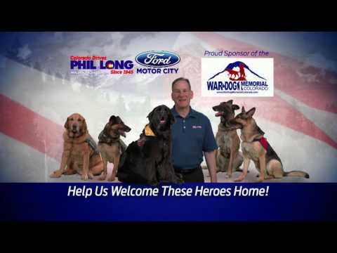 phil long ford motor city - war dog memorial - colorado springs