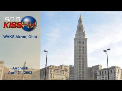 96.5 KISS FM Cleveland Aircheck (2003)