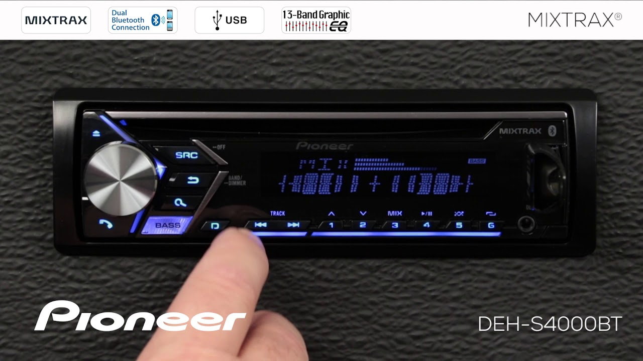 FHS500BT in by Pioneer in Metairie, LA - Double DIN CD Receiver with