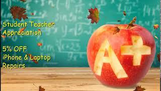 Back to School iPhone Repair & Laptop Repair Discount