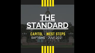Baptism on Denver Capitol Steps - K'Wahn Smith - THESTANDARD Youth and Young Adult Conference 2021