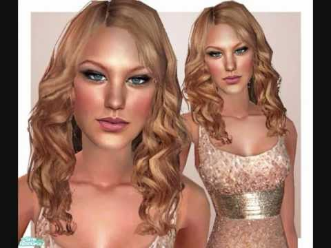 Sims 2 Tutorial, How to Create Celebrity Sims in Bodyshop ...