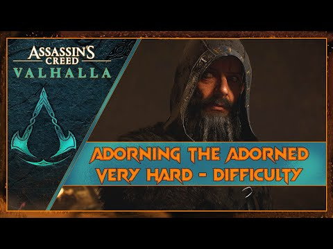 Adorning the Adorned - Chapter 3 | AC Valhalla | Very Hard - Master Difficulty | RTX 2070