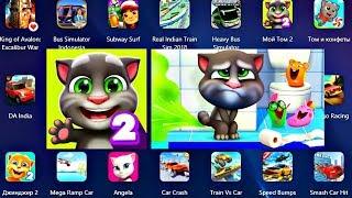 Мой Говорящий ТОМ 2 игровой Мультик для Детей Наш Питомцем НОВАЯ ИГРА про Тома Talking Tom 2
