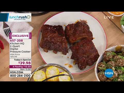 HSN | Lunch Rush With Michelle Yarn 08.26.2019 - 12 PM