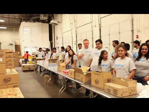 Kairos employees prepare 4,528 meals for underprivileged kids at North Texas Food Bank