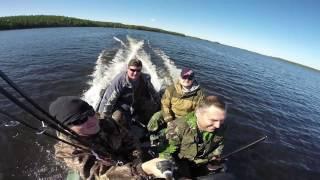 Фильм об отдыхе и рыбалке в Карелии(Монтаж из материала заказчика., 2017-01-09T20:58:50.000Z)