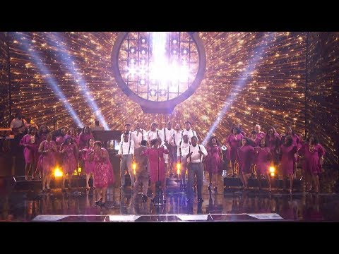 America's Got Talent 2017 Semi-Finals Danell Daymon & Greater Works Performance & Comments S12E19