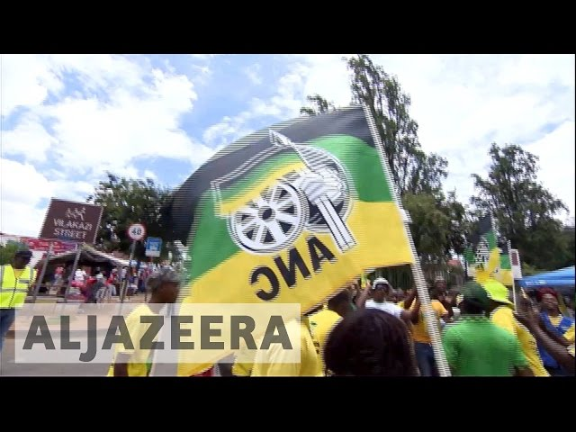 South Africas ruling ANC under pressure