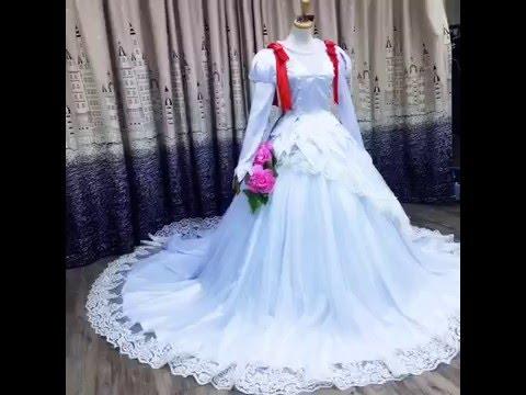 FMAnimecom Cardcaptor Sakura Sakura Kinomoto Wedding Dress - Anime Wedding Dress