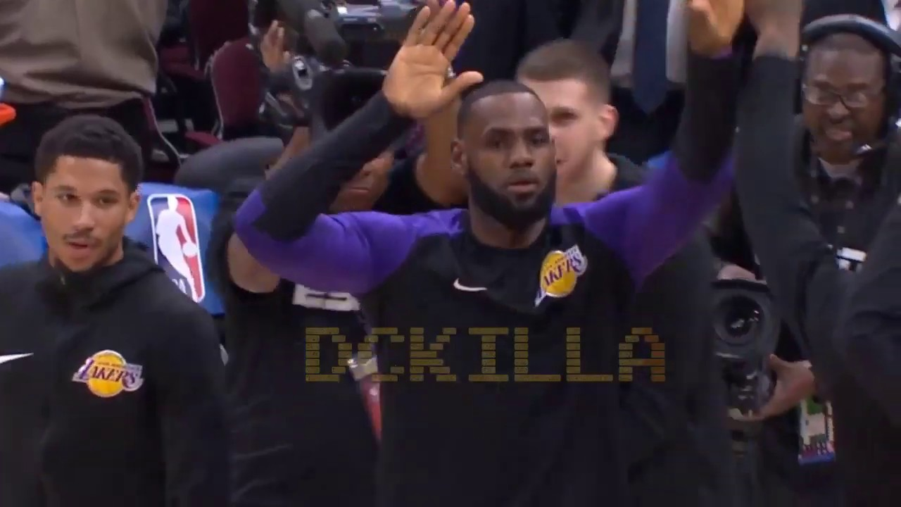 8b18a819f389 LeBron James Gets EMOTIONAL Standing Ovation From Cavs Crowd After Return!