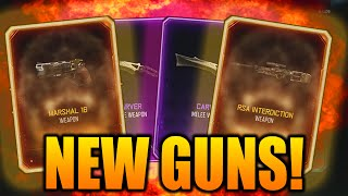 NEW GUNS SUPPLY DROP OPENING REACTION! $100 BLACK OPS 3 NEW WEAPON SUPPLY DROP OPENING!