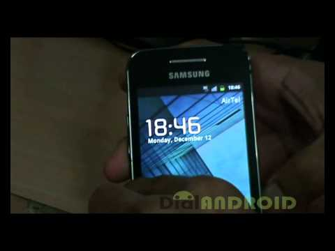 android 2.3.7 cyanogenmod 7.2 on galaxy ace s5830