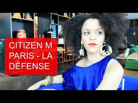 🇫🇷 HOTEL REVIEW: CITIZEN M Paris, La Défense + 16 REASONS WHY IT'S MY FAVORITE HOTEL!!
