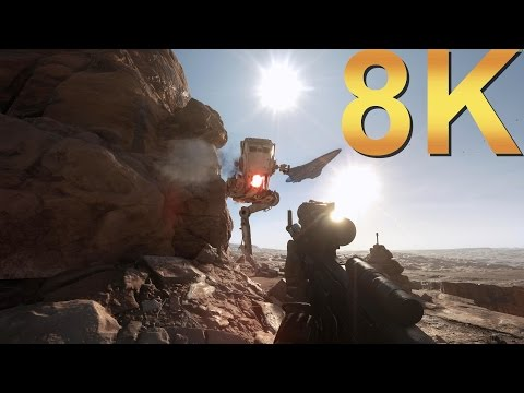 Star Wars Battlefront 8K Ultra Settings Gameplay High Resolution PC Gaming 4K | 5K | 8K And Beyond