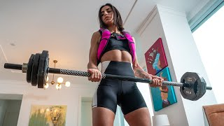 How to Workout from Home: Try this Intermediate Leg Workout for Sexy Legs!