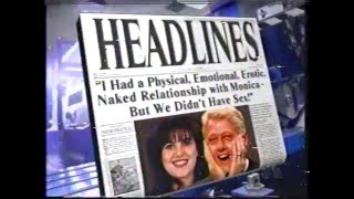 The Tonight Show - Headlines (late 90's)