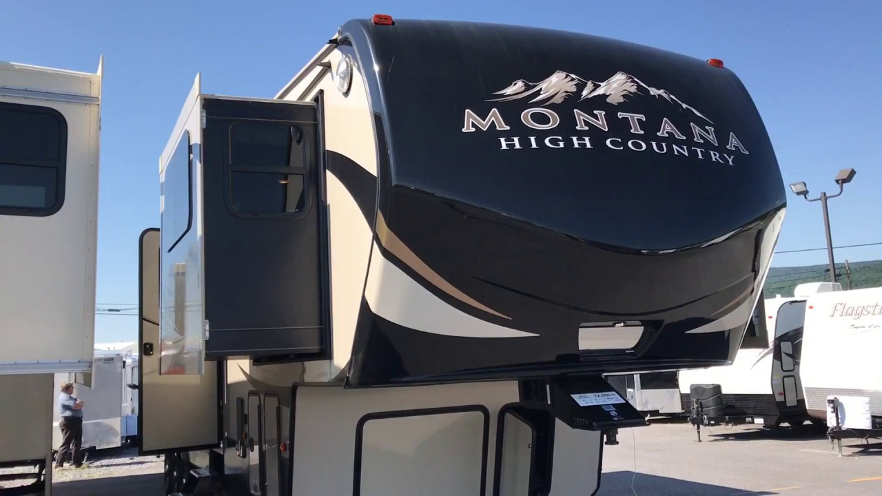 2017 montana high country 381th front living room toy - Toy haulers with front living room ...