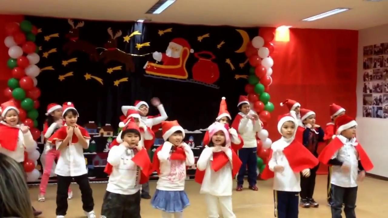 Apresenta o de natal da escola cantinho brasileiro for Canapes para o natal