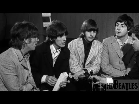 The Beatles - Interview [Skyways Hotel, London, United Kingdom]