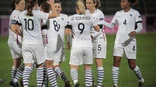 Féminines, Qualifications Euro 2017 : Albanie - France 2015 (0-6), le résumé