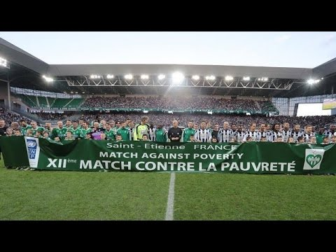 ASSE All Stars VS Zidane and Co (Match contre la Pauvreté)