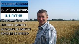 Путин красавчик? Нет. Цифры говорят - плохой бизнес-тренер и отвратный экономист
