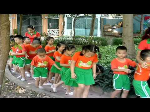 trường mầm non Hoa Phượng- hoat dong ngoai troi