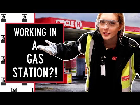 Trying Out A Job At A Gas Station For A Week!