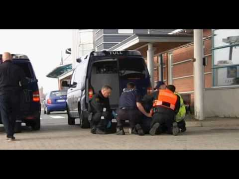 Finnish Border Guard and Finnish Customs Arrest a Smuggler