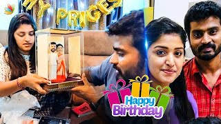Santhosh's shock to Janani | Shreya Anchan Birthday With Sidhu | Thirumanam Colors Tamil