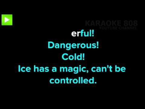Frozen Heart ~ Cast of Frozen Disney Karaoke Version ~ Karaoke 808