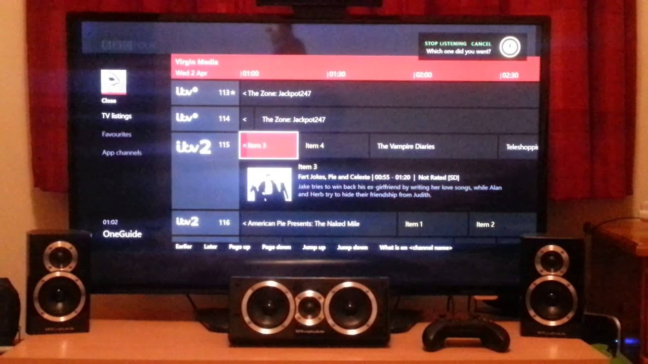 how to get tv on xbox one
