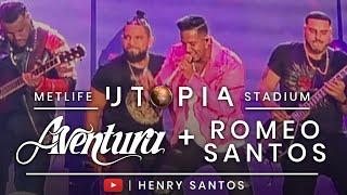 Romeo Santos + Aventura En Concierto | Utopia Tour 2019 (Fan Cam) MetLife Stadium