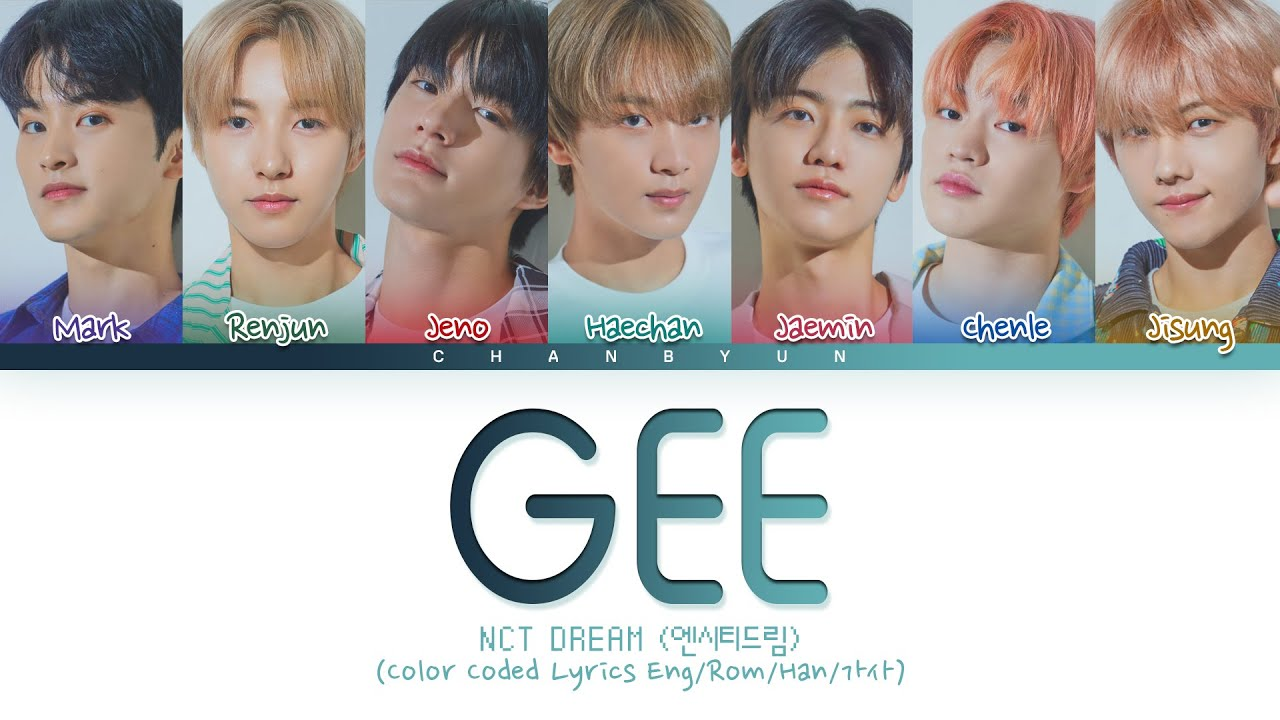 How would NCT DREAM sing Gee Girls' Generation (Male ver) ?